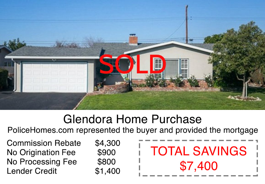 Glendora home purchase