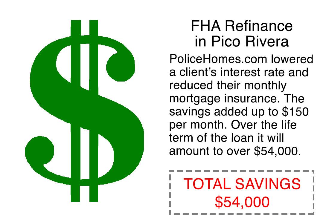 FHA refinance scenario